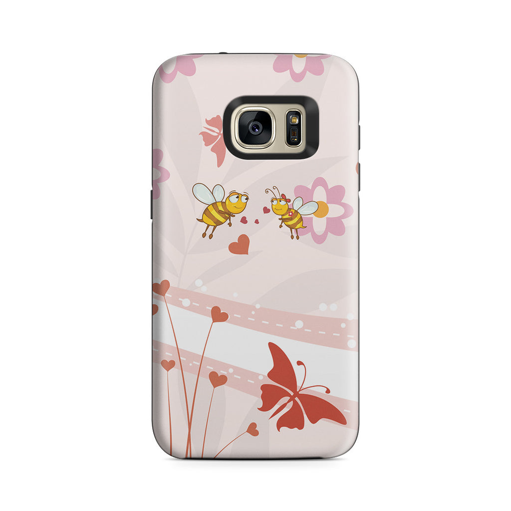 Galaxy S7 Adventure Case - Bee My Honey