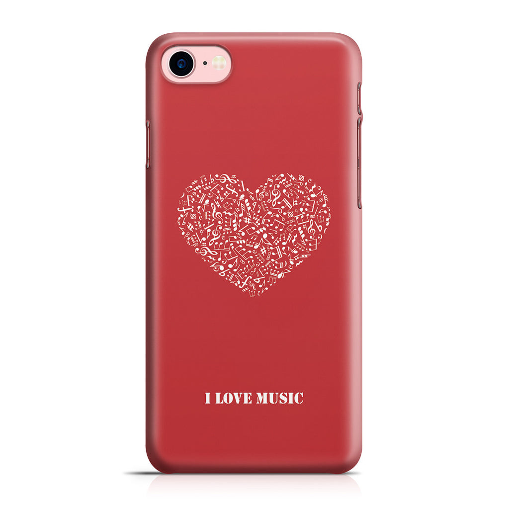 iPhone 7 Case - Music Is Love