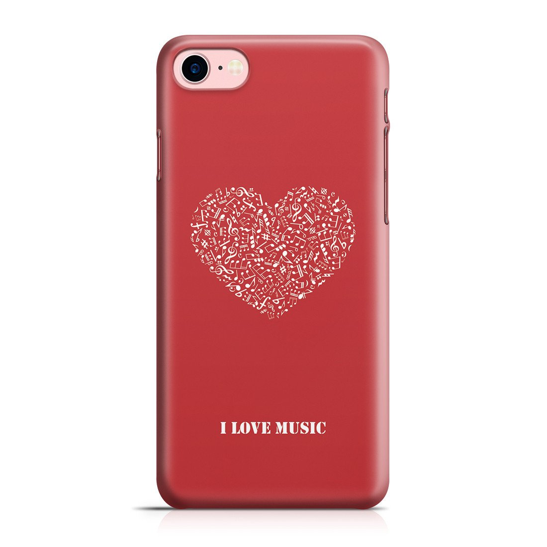 new concept d61f1 51579 iPhone 8 Case - Music Is Love