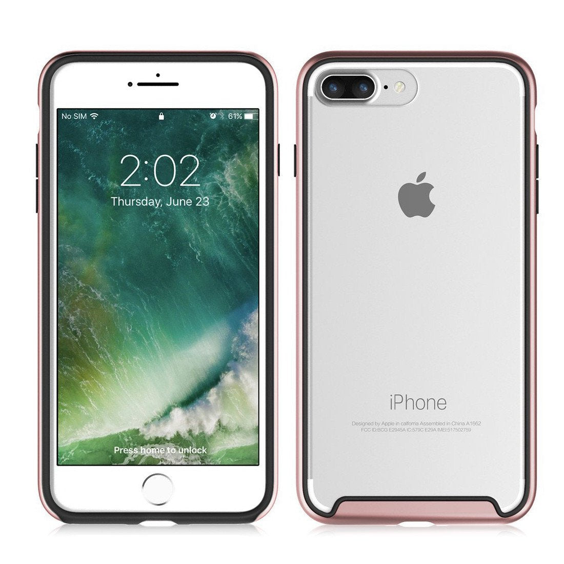 promo code 61244 a3c6b iPhone 8 Plus EverPure Duo - Rose Gold