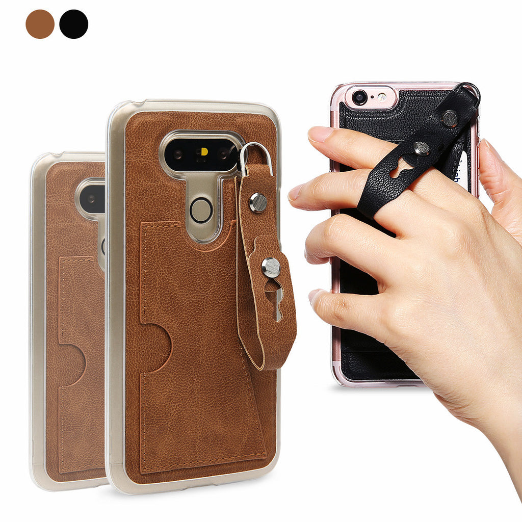 LG G5 - Escape Leather Case (Coffee Brown)