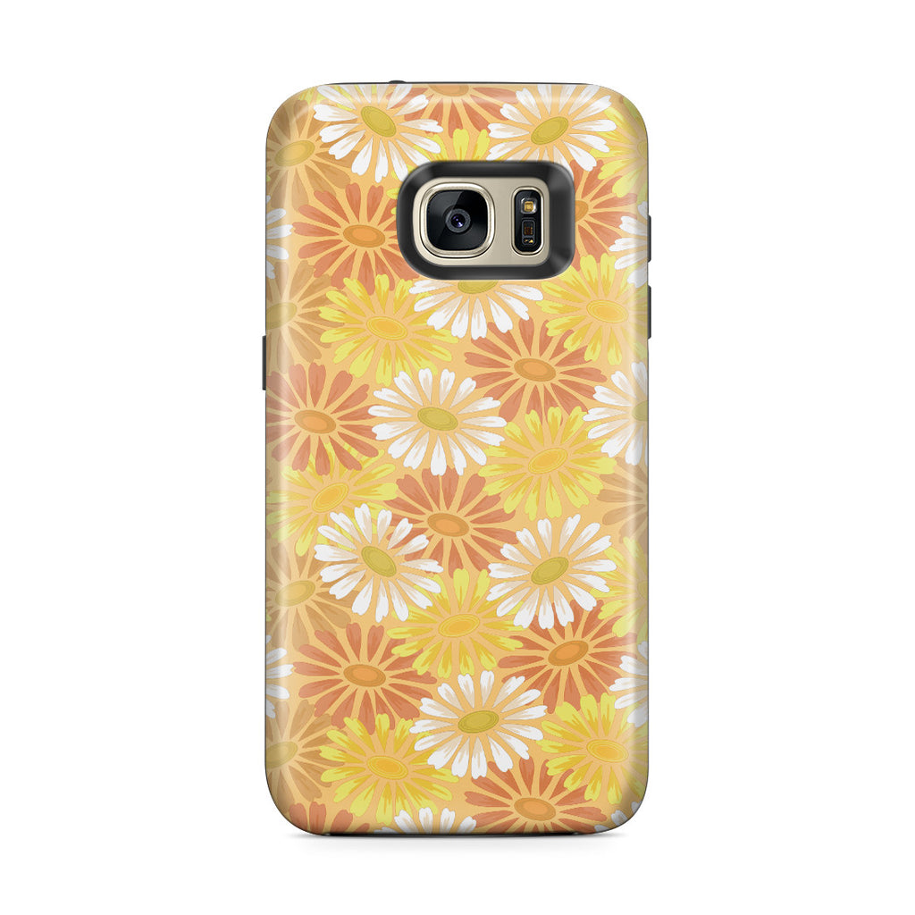 Galaxy S7 Edge Adventure Case - He Loves Me. He Loves Me Not. He Loves Me.
