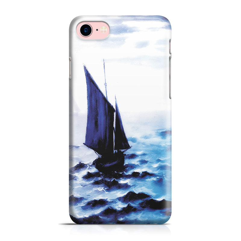 iPhone 7 Case - Boats Leaing the Harbor by Claude Monet