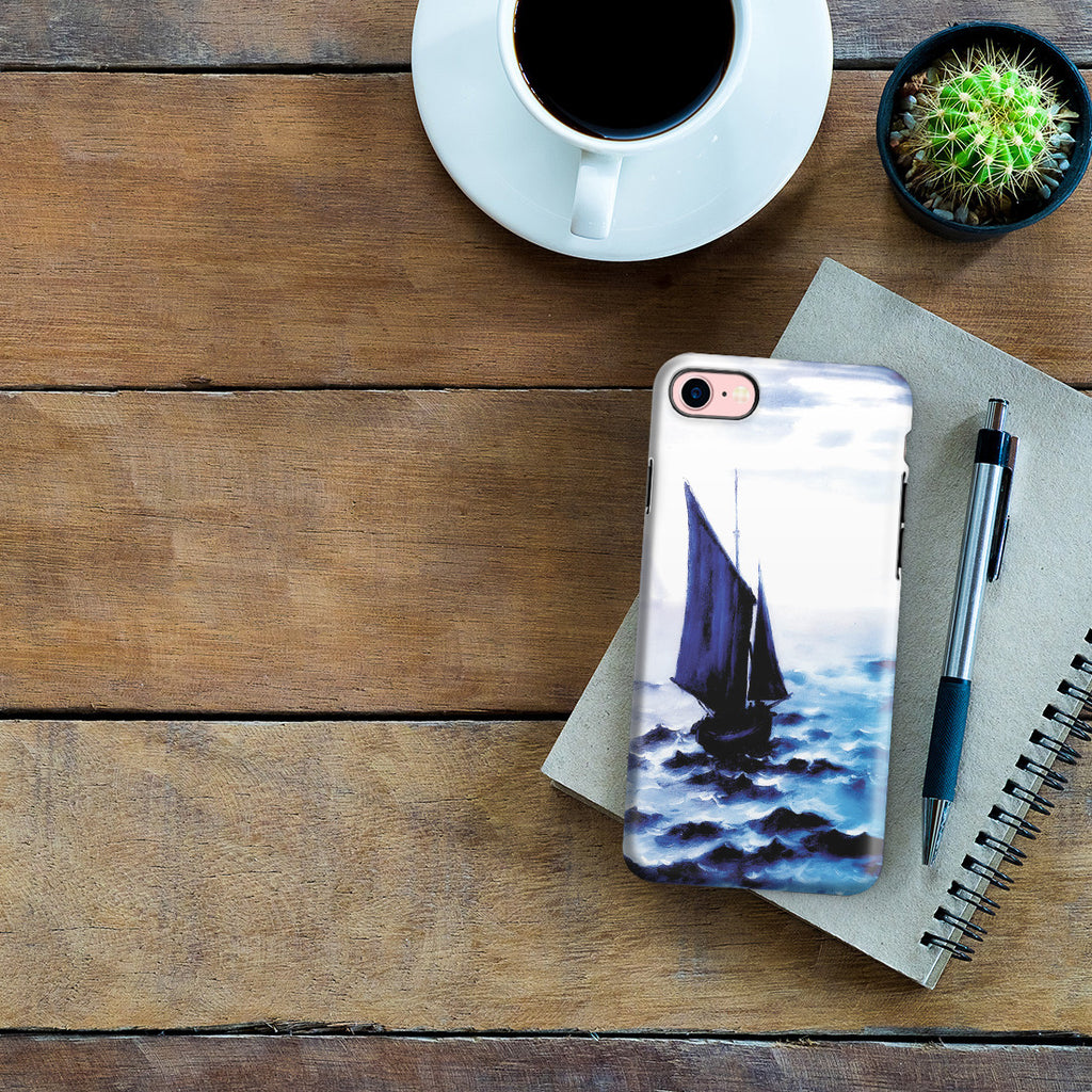 iPhone 6 | 6s Plus Adventure Case - Boats Leaing the Harbor by Claude Monet
