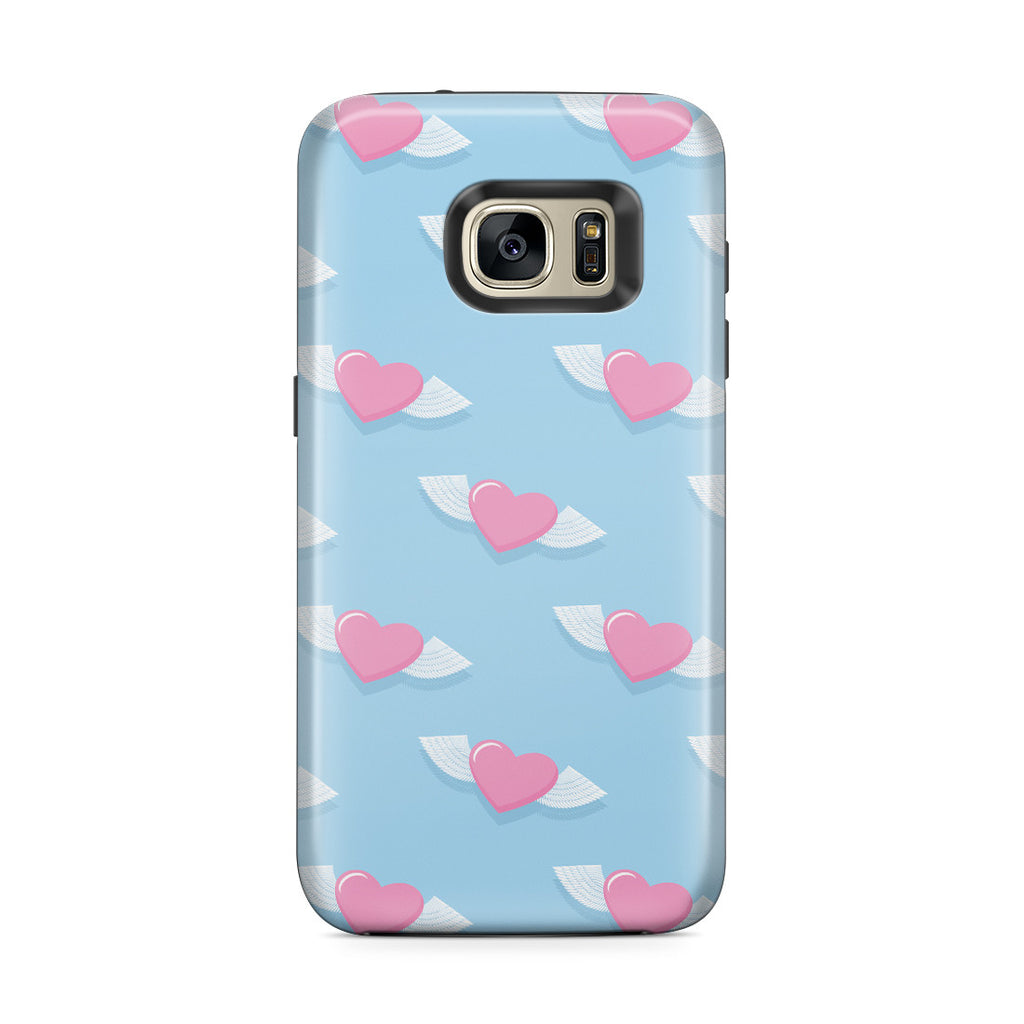 Galaxy S7 Edge Adventure Case - Love Gives You Wings