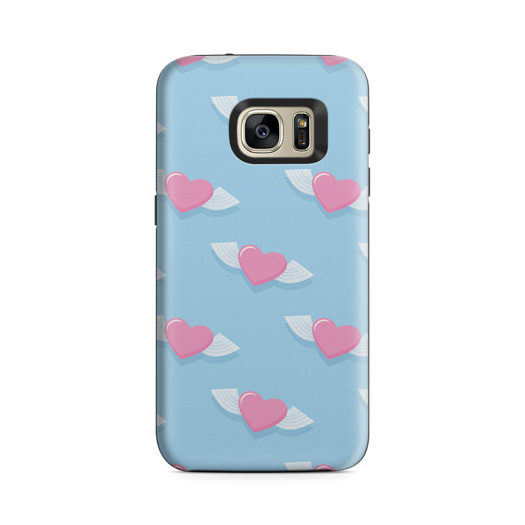 Galaxy S7 Adventure Case - Love Gives You Wings