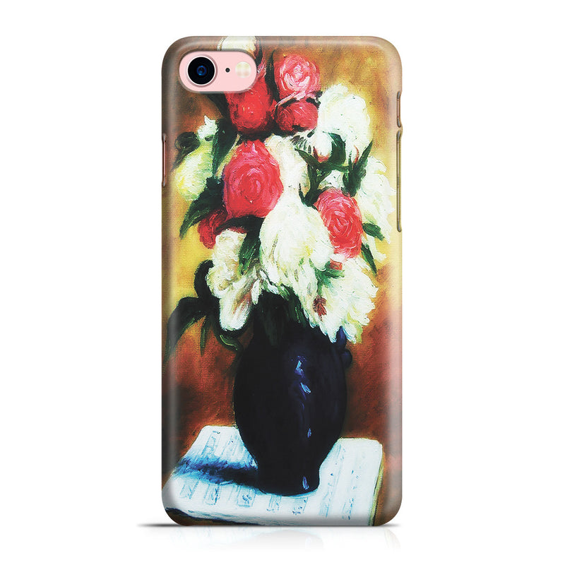 iPhone 7 Case - Bouquet of Peonies on a Musical Score, 1876 by Paul Gauguin
