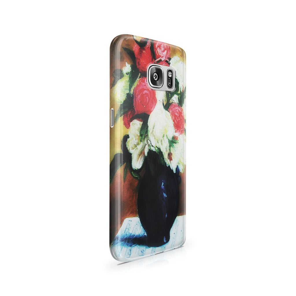 Galaxy S7 Case - Bouquet of Peonies on a Musical Score, 1876 by Paul Gauguin