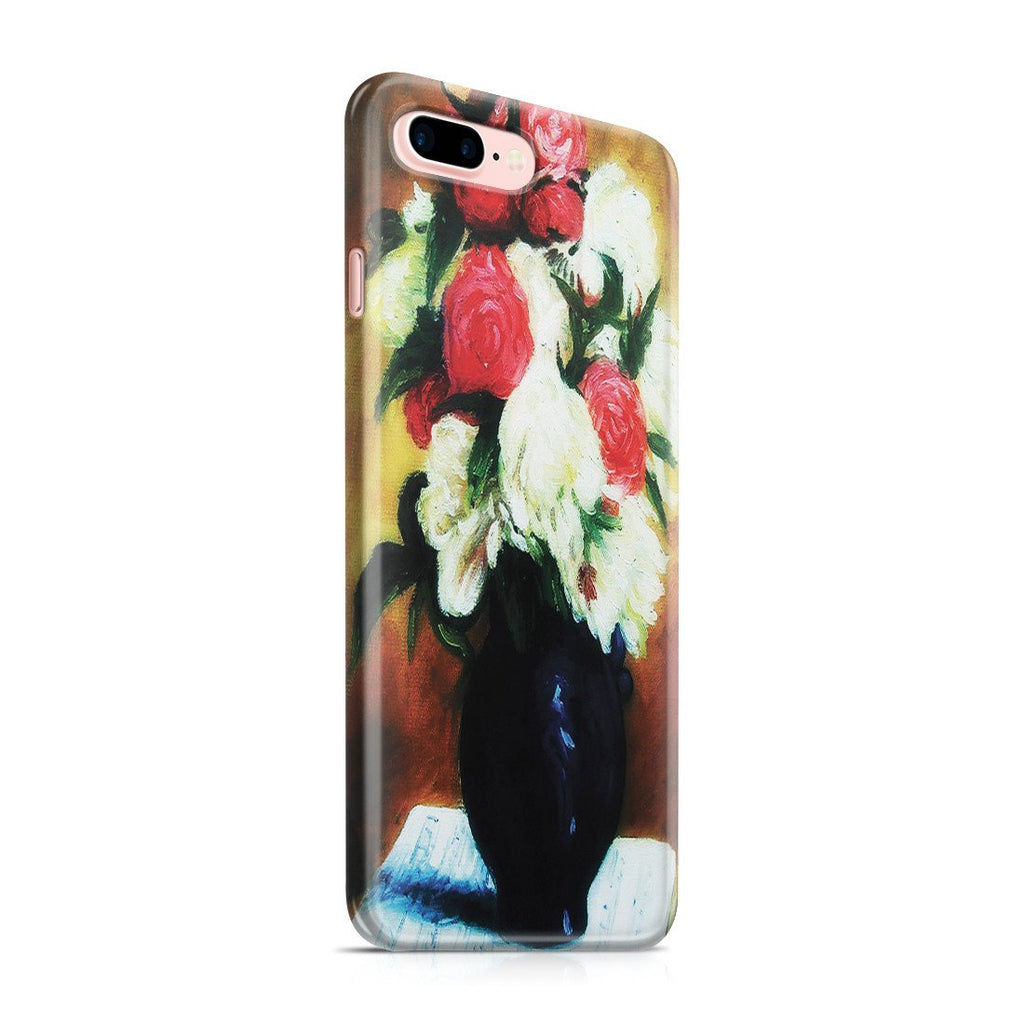 iPhone 8 Plus Case - Bouquet of Peonies on a Musical Score, 1876 by Paul Gauguin