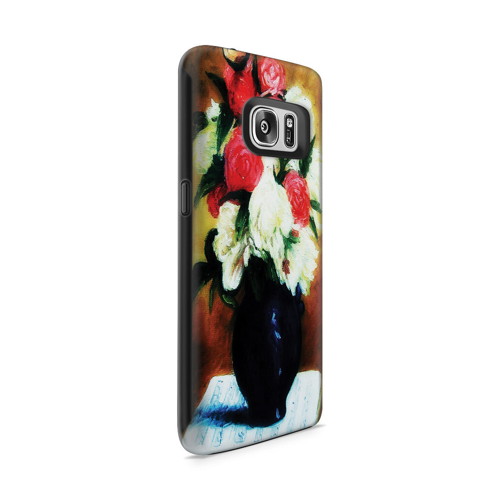 Galaxy S7 Adventure Case - Bouquet of Peonies on a Musical Score, 1876 by Paul Gauguin