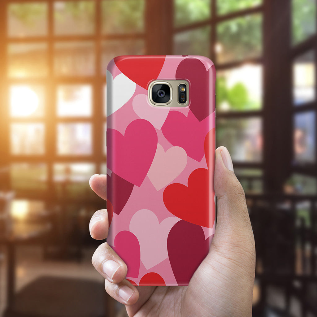 Galaxy S7 Edge Case - Mountains of Love