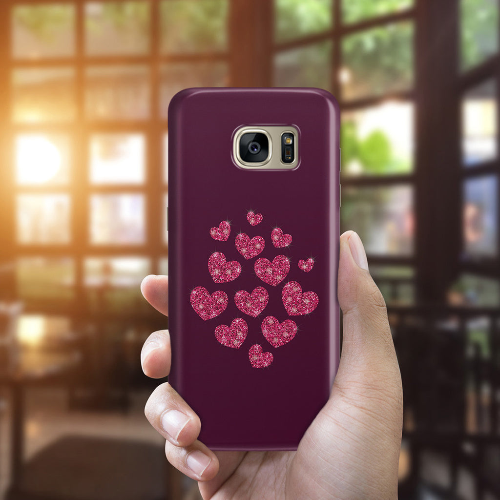 Galaxy S7 Edge Case - Glitter