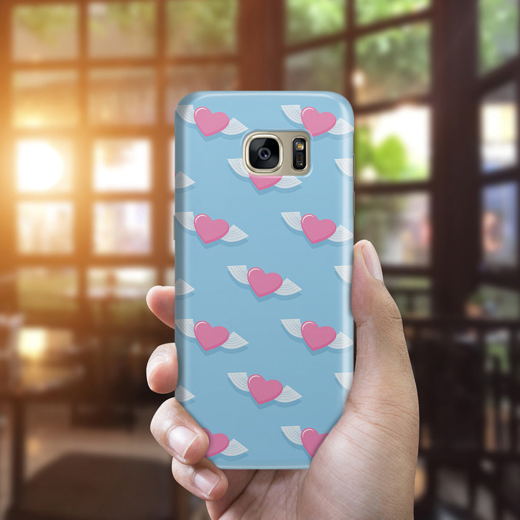 Galaxy S7 Edge Case - Love Gives You Wings