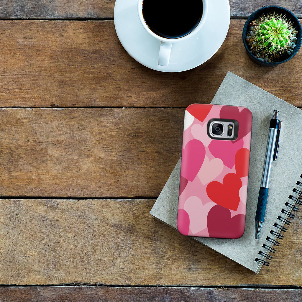 Galaxy S7 Adventure Case - Mountains of Love
