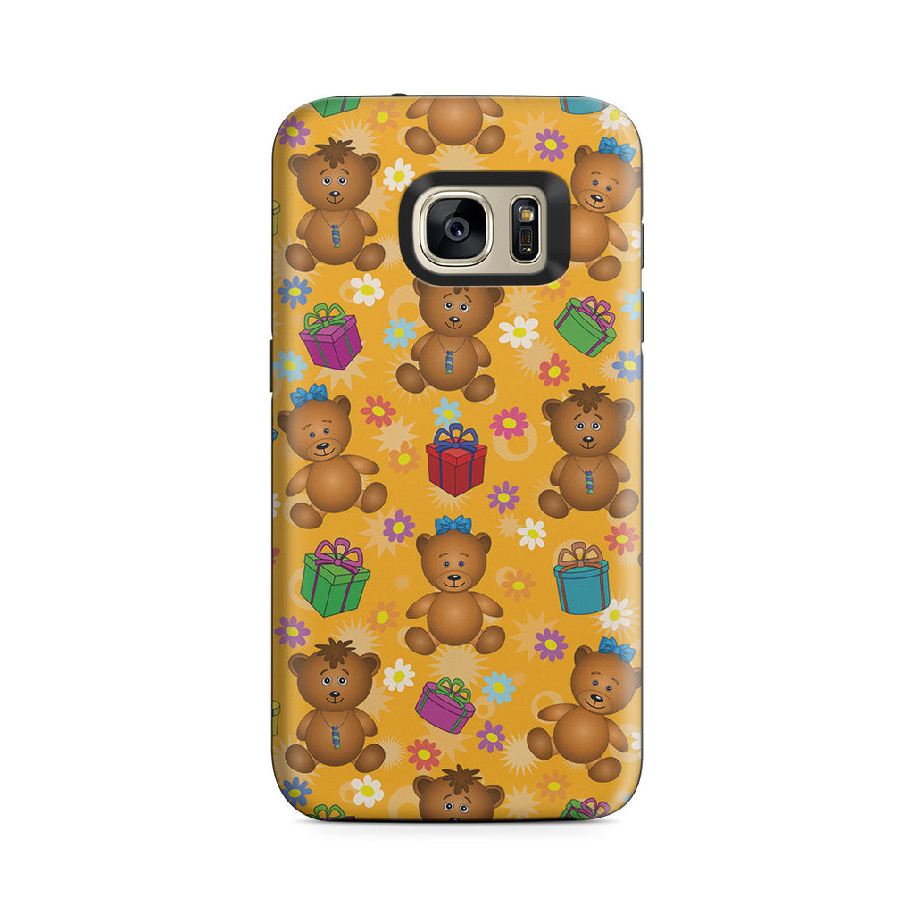 Galaxy S7 Adventure Case - Teddy Bear Hug