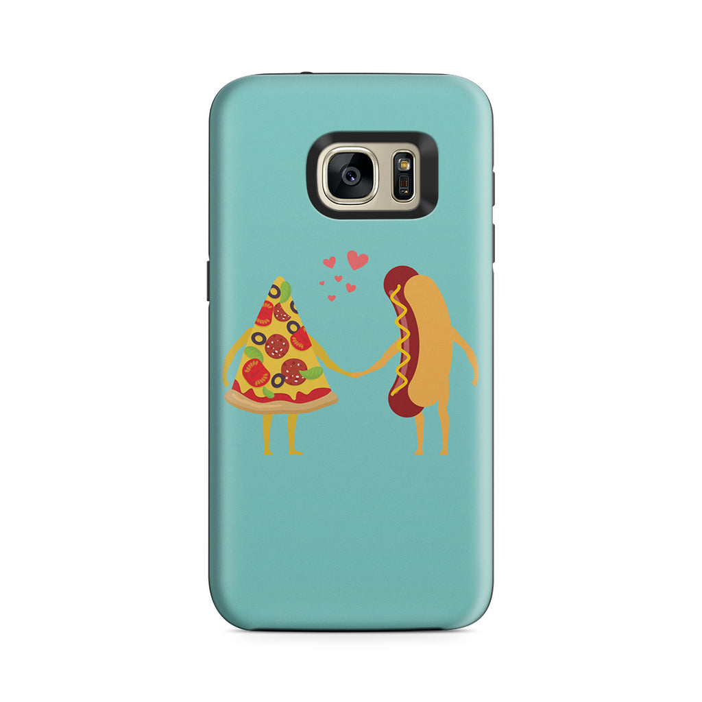 Galaxy S7 Adventure Case - No Love Sincerer Than the Love of Food