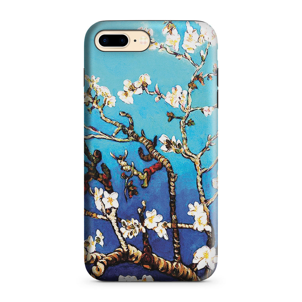 iPhone 7 Plus Adventure Case - Branches Of An Almond Tree In Blossom by Vincent Van Gogh