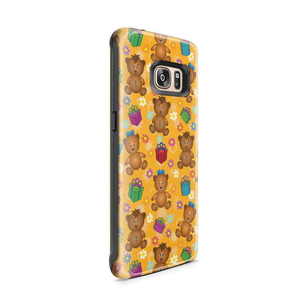 Galaxy S7 Edge Adventure Case - Teddy Bear Hug