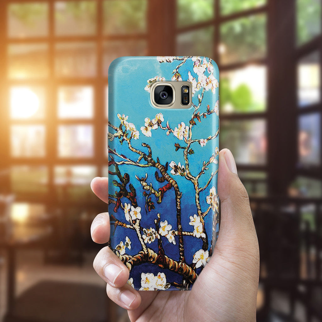 Galaxy S7 Edge Case - Branches Of An Almond Tree In Blossom by Vincent Van Gogh