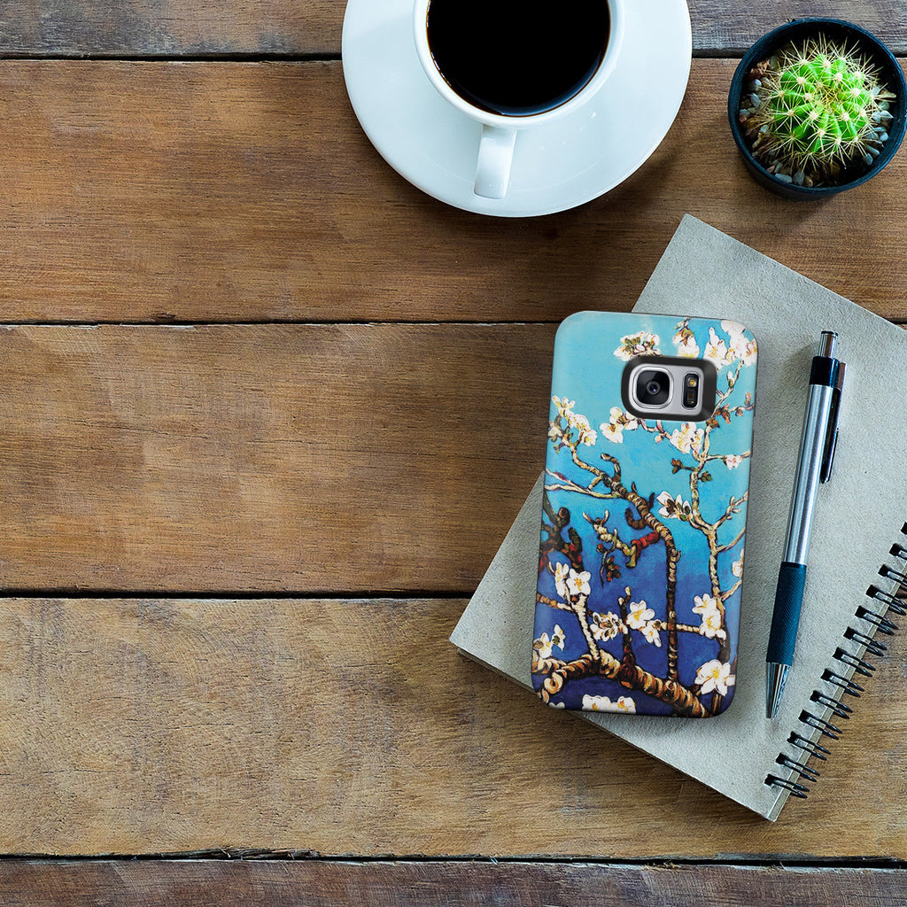 Galaxy S7 Adventure Case - Branches Of An Almond Tree In Blossom by Vincent Van Gogh