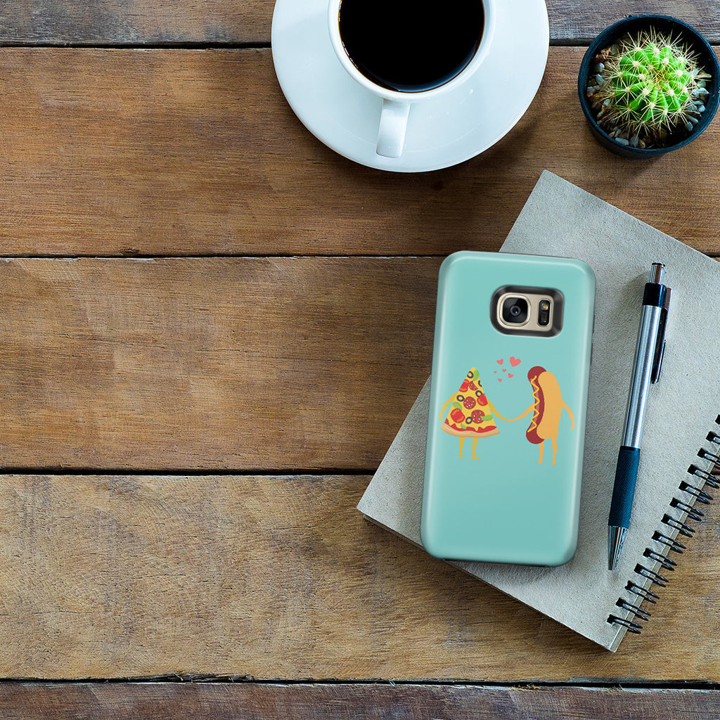 Galaxy S7 Edge Adventure Case - No Love Sincerer Than the Love of Food