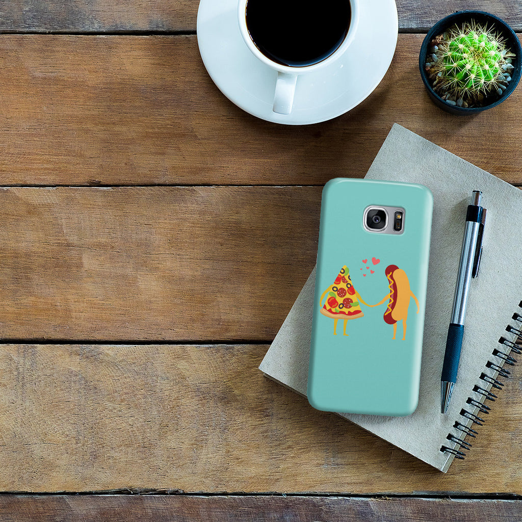 Galaxy S7 Edge Case - No Love Sincerer Than the Love of Food