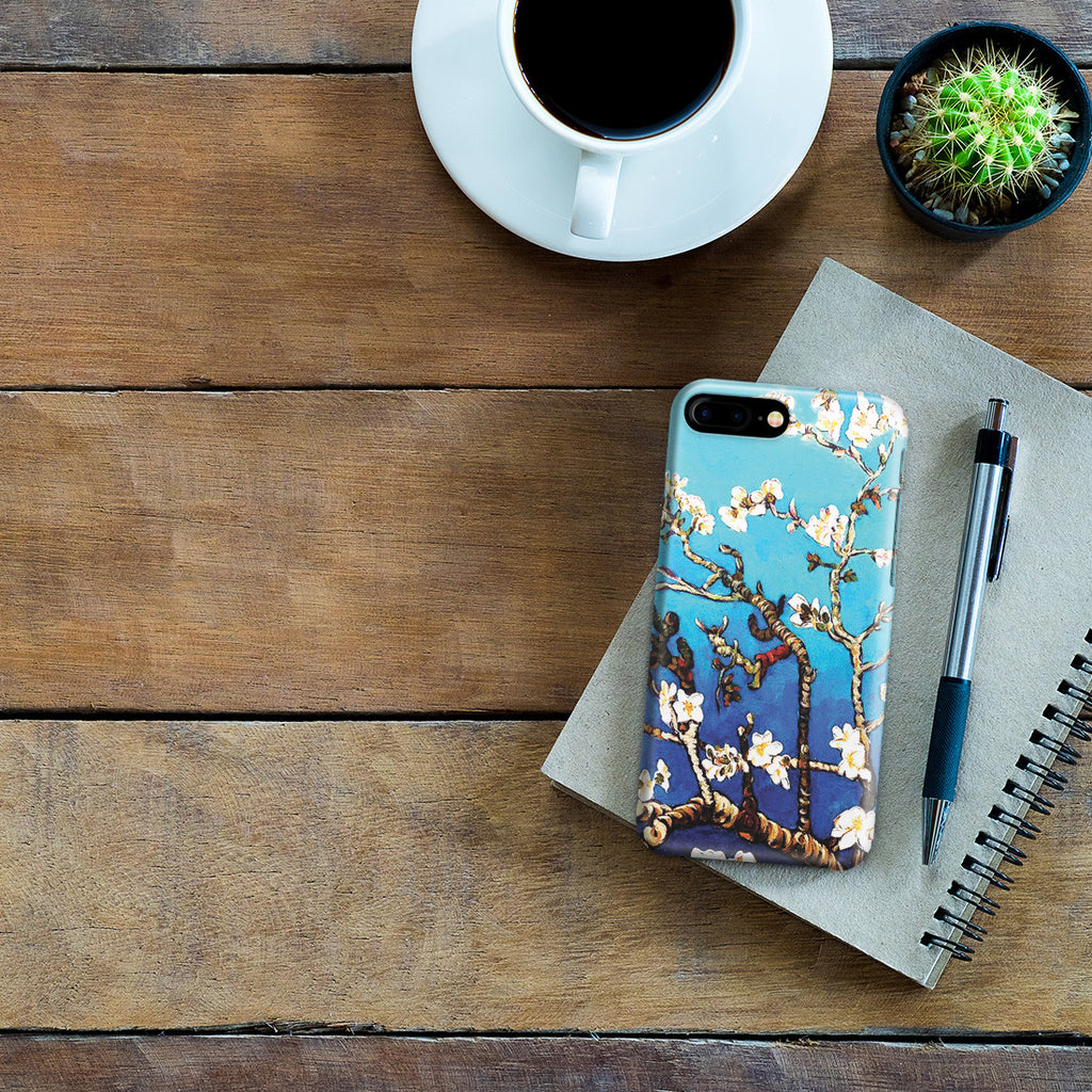 iPhone 7 Plus Case - Branches Of An Almond Tree In Blossom by Vincent Van Gogh
