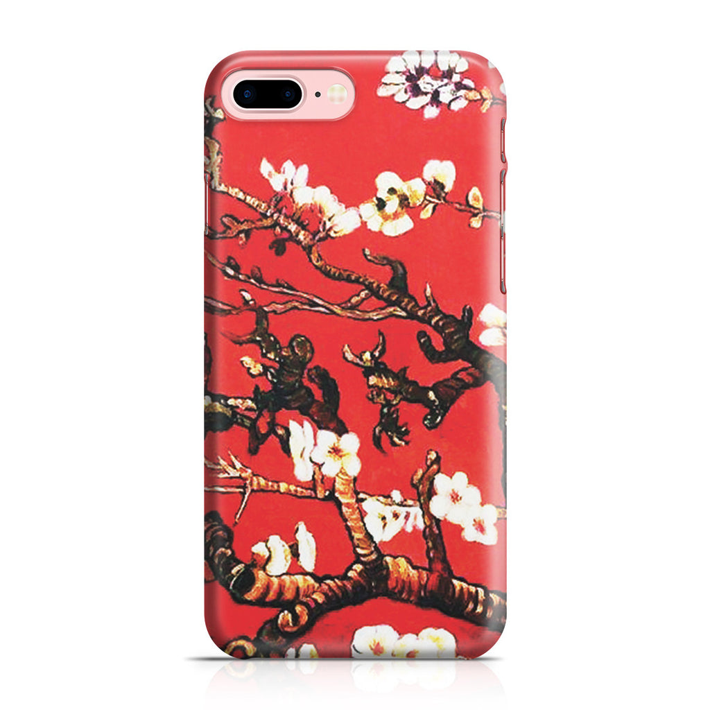 iPhone 7 Plus Case - Branches of an Almond Tree in Blossom, Ruby Red by Vincent Van Gogh