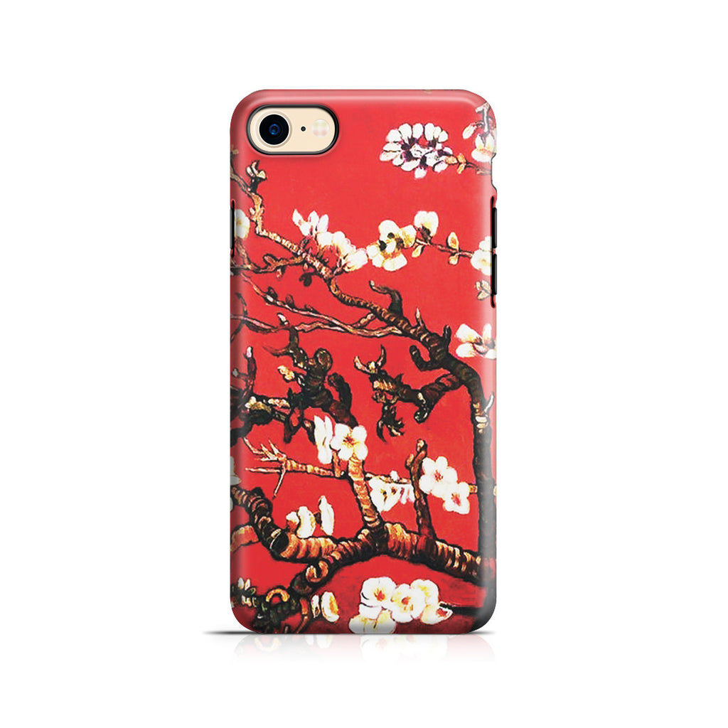 iPhone 7 Adventure Case - Branches of an Almond Tree in Blossom, Ruby Red by Vincent Van Gogh