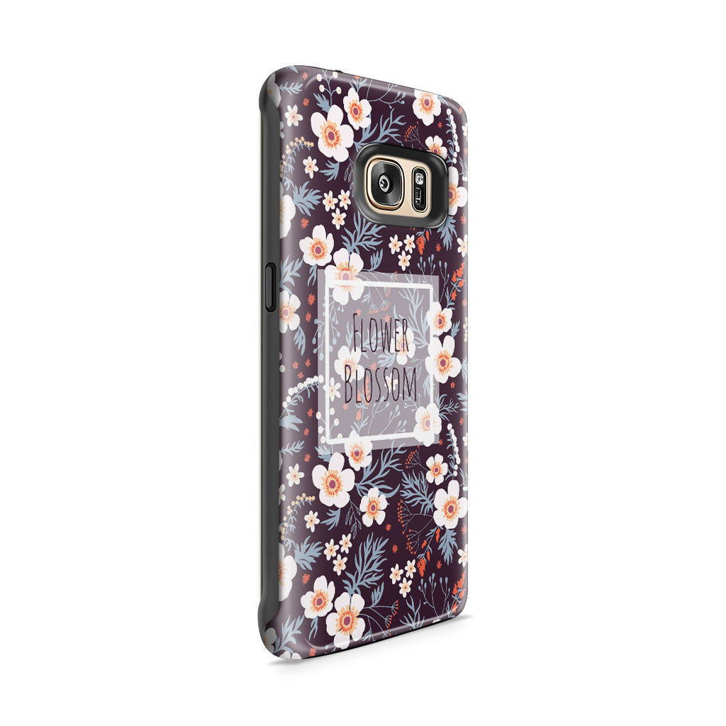 Galaxy S7 Edge Adventure Case - Flower Blossom