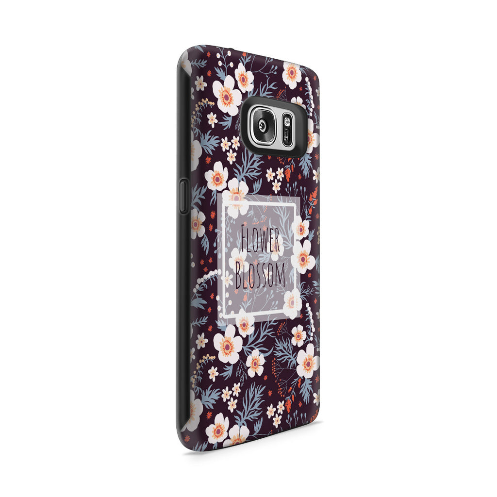 Galaxy S7 Adventure Case - Flower Blossom