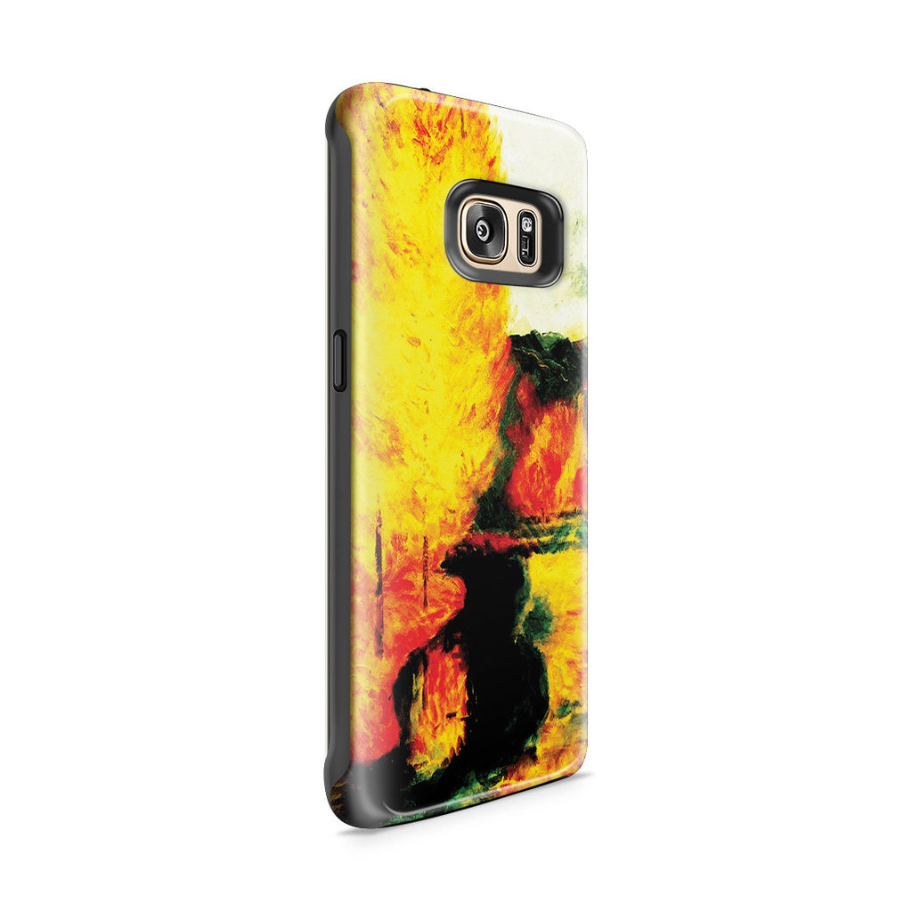 Galaxy S7 Edge Adventure Case - By the Stream, Autumn, 1885 by Paul Gauguin