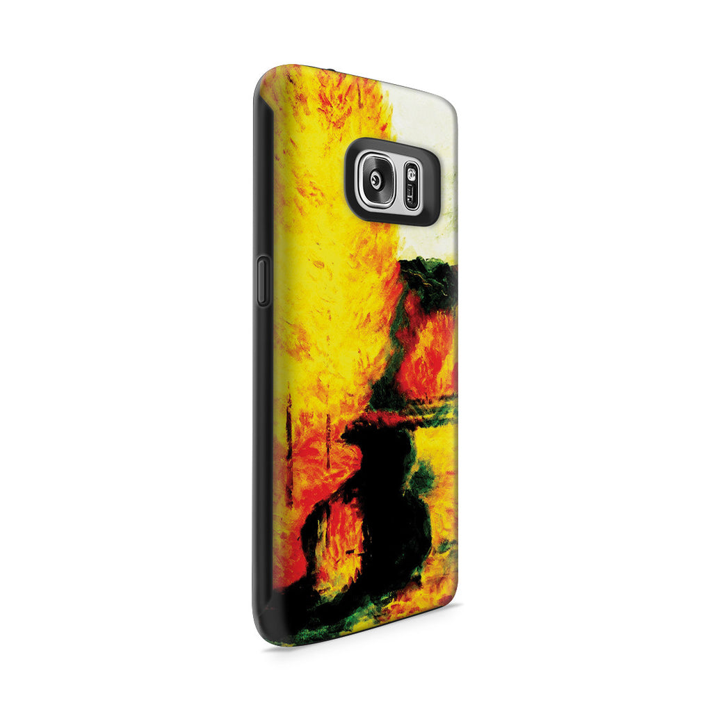 Galaxy S7 Adventure Case - By the Stream, Autumn, 1885 by Paul Gauguin