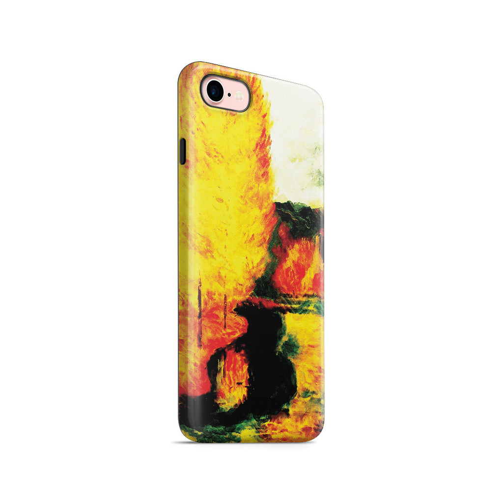 iPhone 7 Adventure Case - By the Stream, Autumn, 1885 by Paul Gauguin