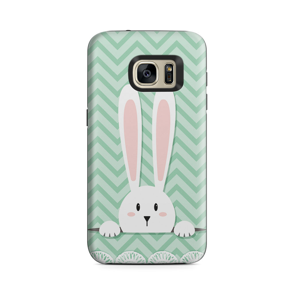 Galaxy S7 Adventure Case - Curious Rabbit