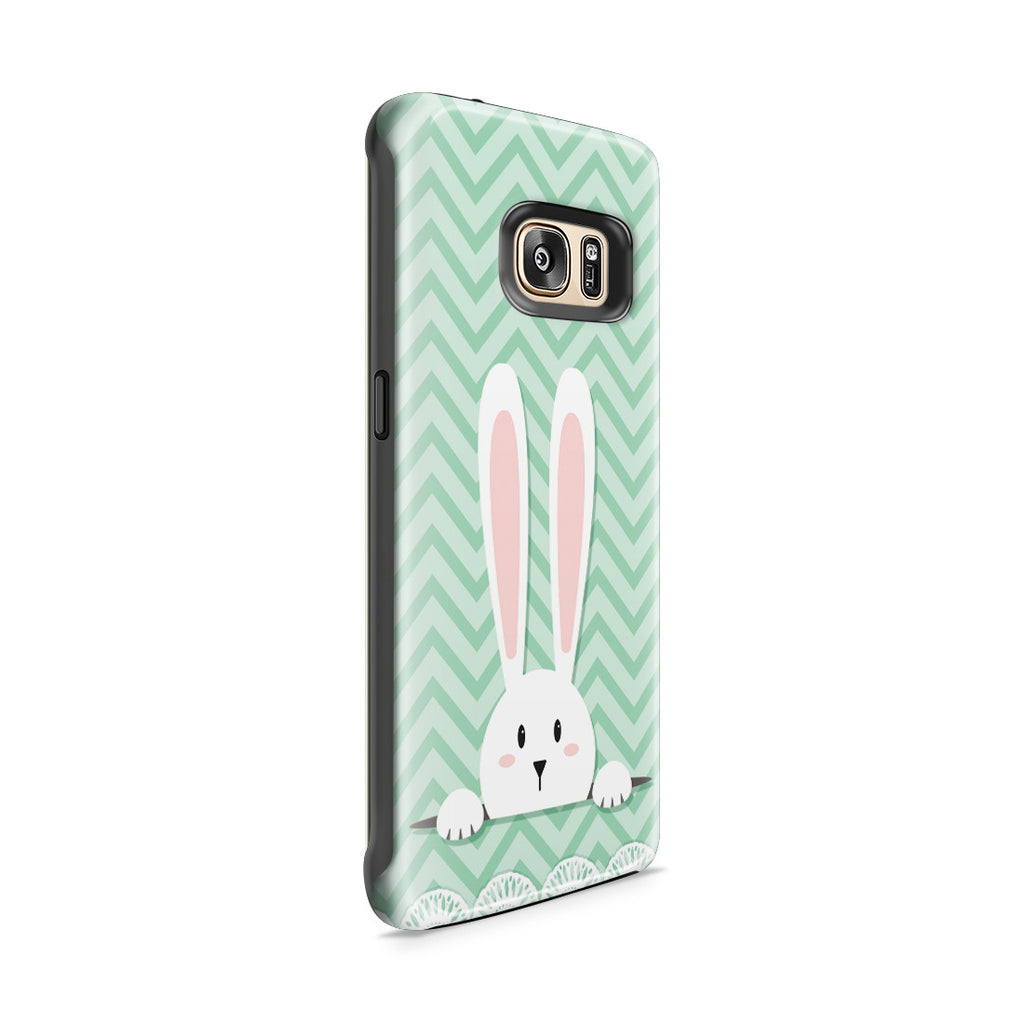 Galaxy S7 Edge Adventure Case - Curious Rabbit