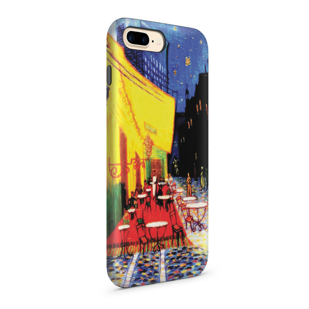 iPhone 7 Plus Adventure Case - Cafe Terrace at Night by Vincent Van Gogh