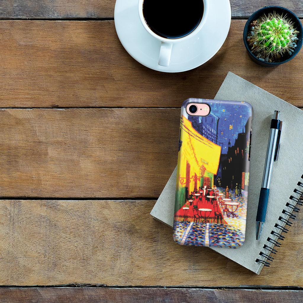 iPhone 7 Adventure Case - Cafe Terrace at Night by Vincent Van Gogh