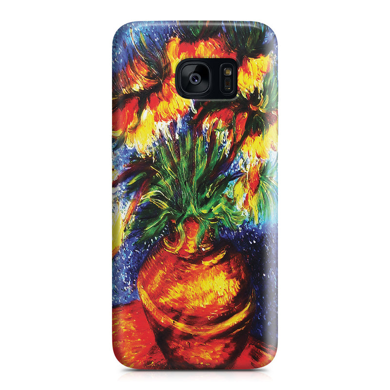 Galaxy S7 Edge Case - Crown Imperial Fritillaries In a Copper Vase by Vincent Van Gogh