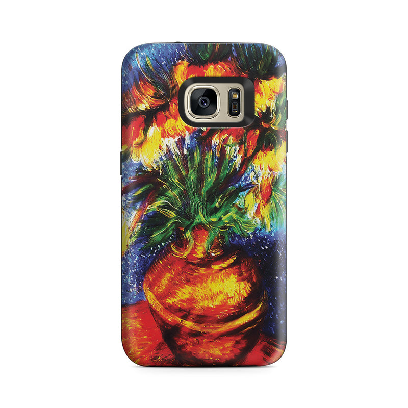 Galaxy S7 Adventure Case - Crown Imperial Fritillaries In a Copper Vase by Vincent Van Gogh