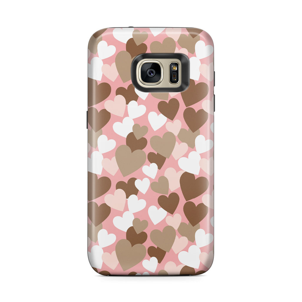 Galaxy S7 Edge Adventure Case - My Heart Beats for You