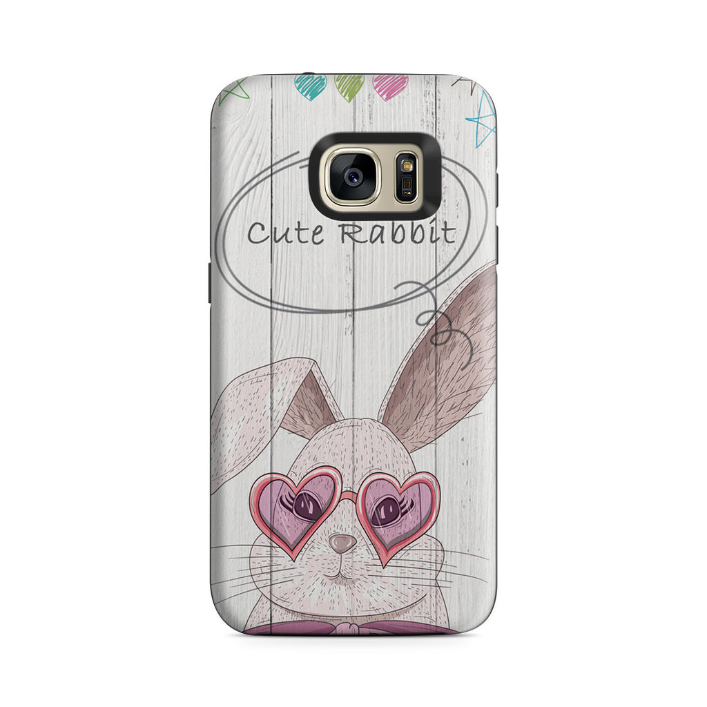 Galaxy S7 Adventure Case - Cute Rabbit