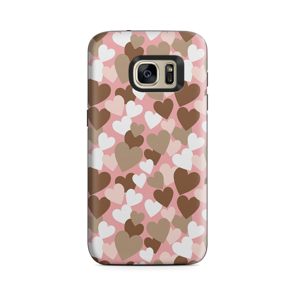 Galaxy S7 Adventure Case - My Heart Beats for You