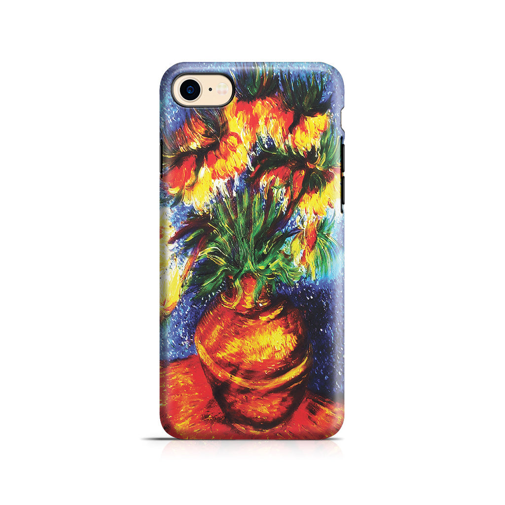 iPhone 7 Adventure Case - Crown Imperial Fritillaries In a Copper Vase by Vincent Van Gogh