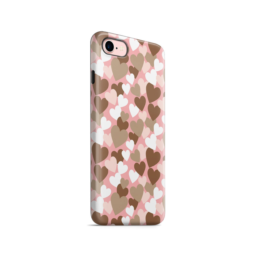 iPhone 7 Adventure Case - My Heart Beats for You