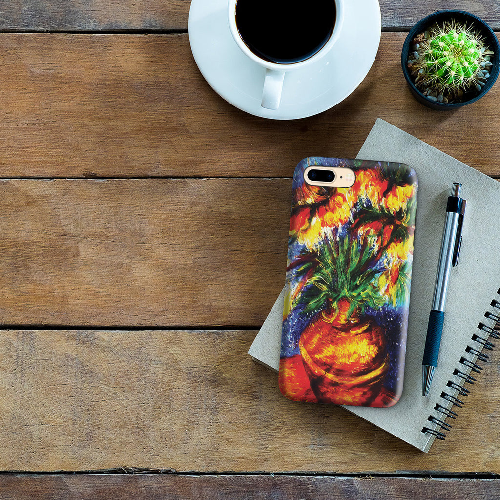 iPhone 7 Plus Adventure Case - Crown Imperial Fritillaries In a Copper Vase by Vincent Van Gogh