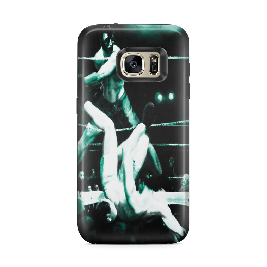 Galaxy S7 Edge Adventure Case - Dempsey and Firpo by George Wesley Bellows