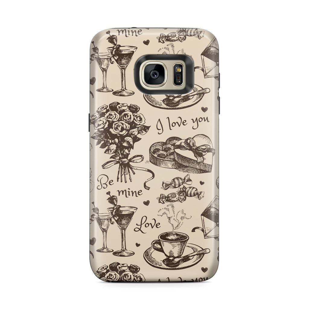 Galaxy S7 Edge Adventure Case - Valentine's Day