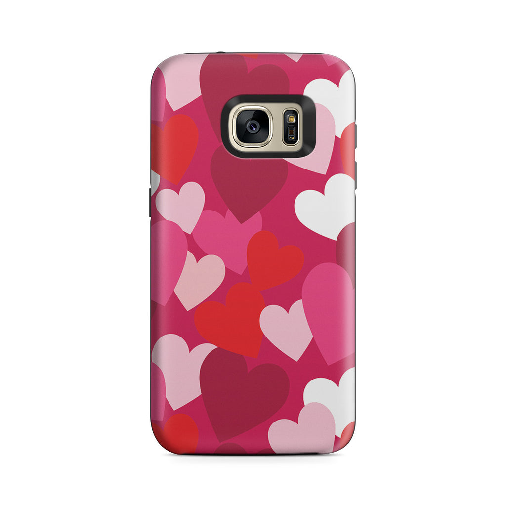 Galaxy S7 Adventure Case - I Heart You