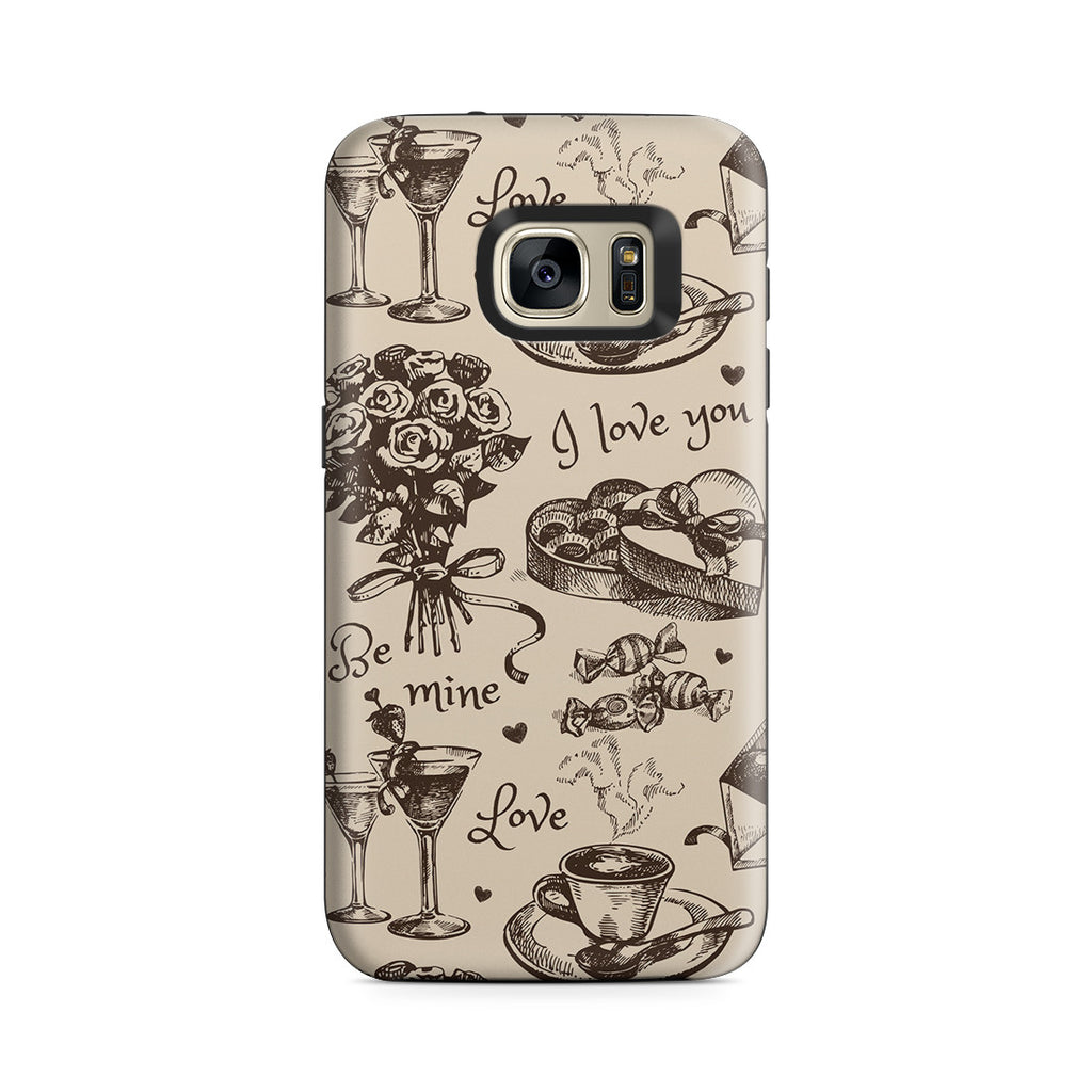 Galaxy S7 Adventure Case - Valentine's Day